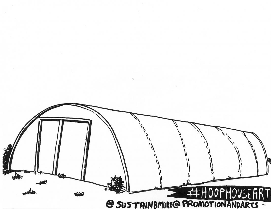 Hoop House Public Art Microgrants Baltimore Office Of